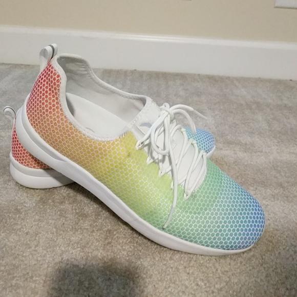 Jessica Simpson Rainbow Sneakers